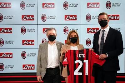 Ac MILAN e Acqua Lete annunciano una nuova  partnership
