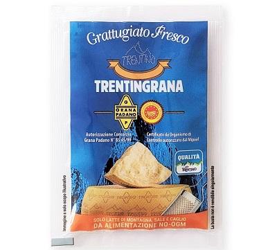 Trentingrana, bustine monodose di grattuggiato fresco per il foodservice