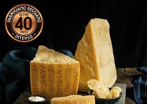 Parmigiano reggiano investe sul 40 mesi