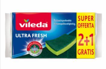 Vileda Ultra Fresh è la soluzione contro i batteri