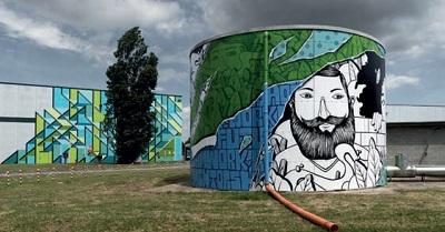 Con CEVA Logistics e Gruppo Lombardini 22, la urban art entra nel Prologis Park Lodi