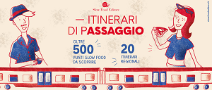 Una collana targata Trenitalia e Slow food