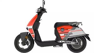 Ducati lancia il primo scooter elettrico