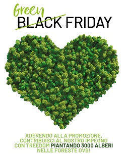 Il Black Friday da Ovs è green