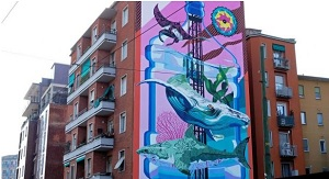 North Sails-Worldrise: un murales per l'ambiente