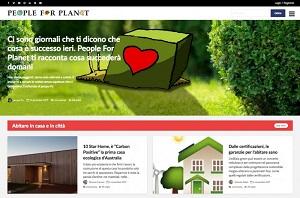 L'informazione green di People for Planet
